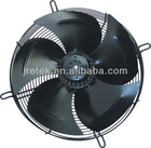 axial fan with external rotor motor