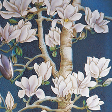 big tree with Magnolia flower oil painting for sale
