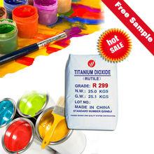 titanium dioxide rutile R299 tio2 94% min masterbatch and plastic specific