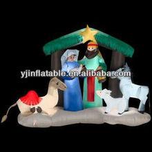 new yard decor 6ft nativity inflatable christmas holiday
