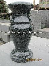 De china bosque verde granito cementerio jarrones