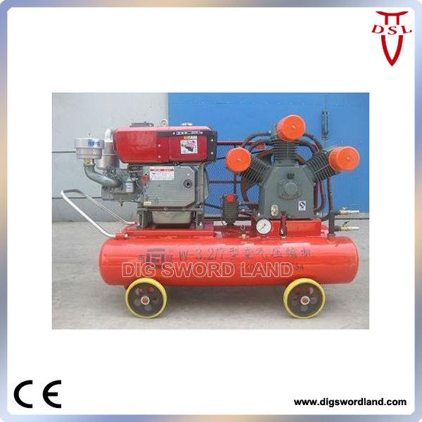 portable compressor for mine