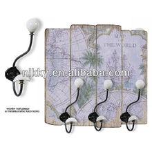novel world map antique plaque and apprecuation plaque with custom design for wholesale