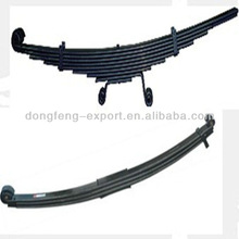 China wholesale front and rear double eye leaf spring