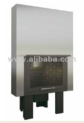Conical Cast Iron Fireplace