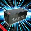24 volts da bateria packs 12v 200ah 100ah-250ah para o sistema solar powered