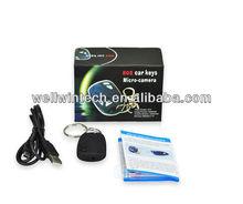 HD hidden portable 720P car key module chain mini DV micro camera