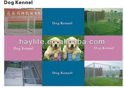 Outdoor galvanized chainl link dog kennel