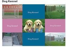 Outdoor galvanized heavy duty chain link dog kennel