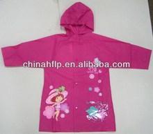 Symbolic high quality children disposable poncho