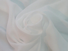 High quality white fabric textile aimed for women's summer clothing