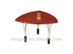 LD-1236# chic triangle wooden top desk