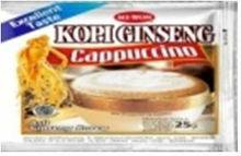 Instant Coffee Mix Ginsen Cappucino