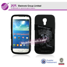 silicon +pc mobile case protector for Samsung Galaxy S4 mini I9190