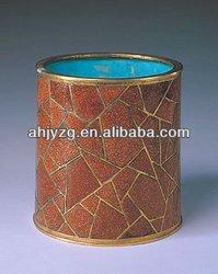 Round pencil packing Tin Box
