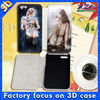 3D leather case for iphone5 3D flip phone covers