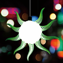2014inflatable product/ hanging inflatable lighting star