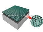 2013 High quality Hot Sale modular tile Suspended Interlocking plastic Basketball court outdoor Floor