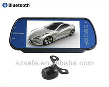 car backup camera rear wireless view bluetooth 7 inch display with mp5 function