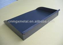 BUD Industries SA-1278-MG Steel Adjustable Shelf-Open Relay Rack 17-3964 Width x 5-1364 Height x 16 Depth, Metallic Gray Finish