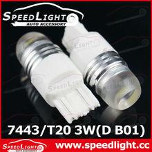 Superior Car LED Lights T20 W21/5W 7443