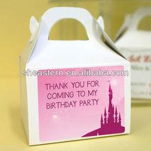 Birthday celebration cupcake box