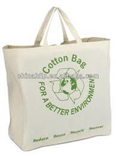 Personalized unique one shoulder cotton bags