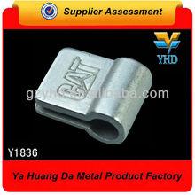 shinny zinc alloy crystal bag accessories wholesale