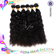 2013 Most popular virgin unproessed natural body wave hair band extensions