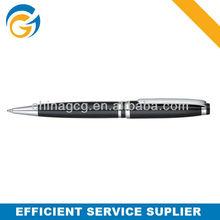 Hot!2 Color Black Barrel Clip Twist Metal Ball Pen