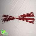 la naturaleza seca recta de color palos de bambú para decorativos