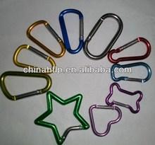 Decorative colorful carabiner opener