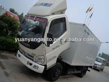 White Foton Light Van Truck