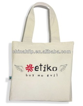 Personalized trendy cotton newspaper bag