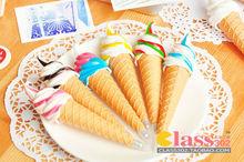 Ice cream shaped magnetic adsorption ball pen/Creative ball pen