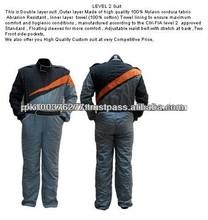 High Quality Custom Level 2 100% Nylon Cordura Kart Racing Suit