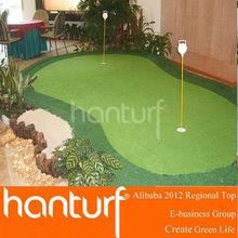 Artificial golf putting green carpets Grass Low-cost maintenance