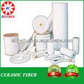 De fibra de cerámica textiles( cuerda. Tela, cinta y hilado)