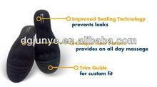 black xxx/metatarsal arch support/liquid massage insole/bunion protector