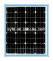 60w baixo custo de película fina de células solares