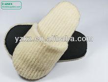 Soft coral fleece indoor slippers for women and men