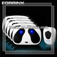 FORRINX Christmas Gifts! AC 110~220V 3 songs digital door chime, audio wireless doorbell, remote doorbell for home, office, apar