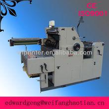 ht47anp hamada de un solo color y la numeración de la máquina para la impresión de libros