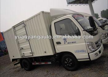 China Foton 4*2 Van Cargo Truck