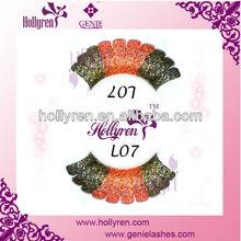 2013 Colorful Charming Lace False Eyelashes for Party