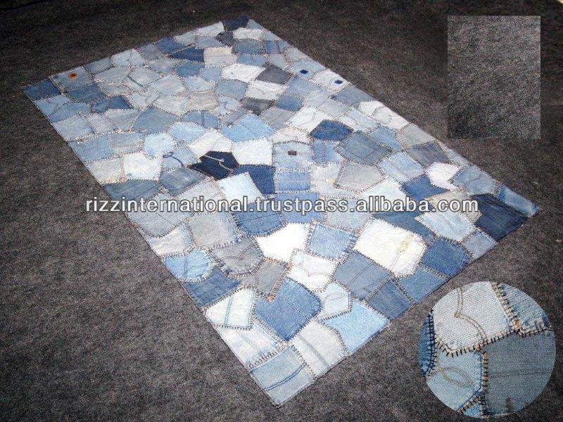 Set De Baño Reciclado:dril de algodón reciclado de bolsillo alfombras