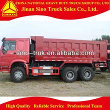 HOWO 6*4 10 wheeler dump trucks for sale