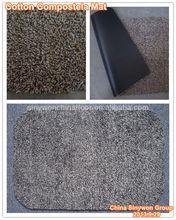 Cotton&Microfiber Yarn Thick Dirt-catching Flooring Mat