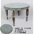 2013 antiguos de metal ronda de mesas de café