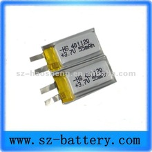 Small safe battery micro rechargeable battery